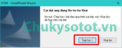 hướng dẫn cài đặt phần mềm HTKK