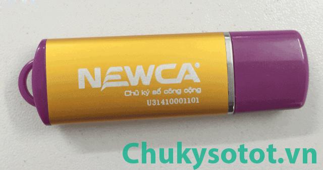 Đăng ký chữ ký số điện tử NewCA giá rẻ